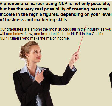 NLP as a business opportunity - The Tad James Co.